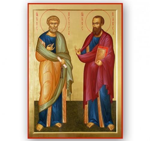 Храм во имя святых первоверховных апостолов Петра и Павла («верхний храм»)